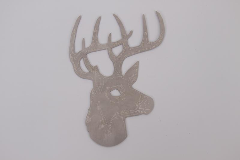 deer_metal_art